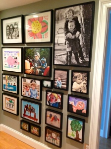 Floor to Ceiling Picture Gallery
